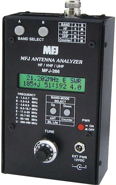MFJ-266 антенный анализатор